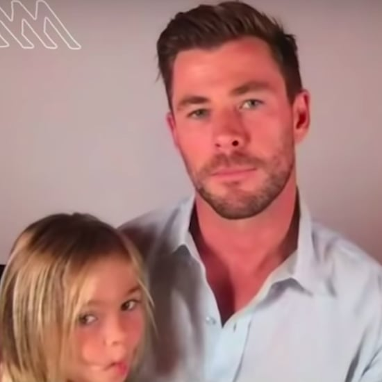 Chris Hemsworth's Son Crashes His Virtual Interview | Video