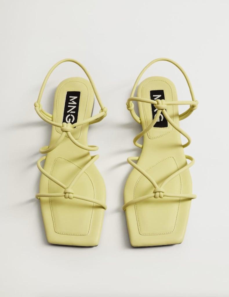 Mango Straps Knots Sandals