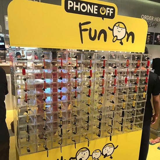 McDonald's Singapore Smartphone Lockers