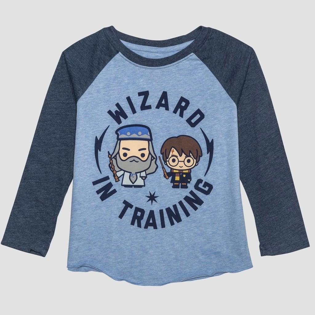 7e49f23e4 Toddler Boys' Harry Potter Raglan Long Sleeve T-Shirt | Harry Potter ...