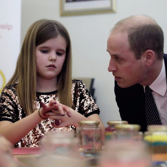 Prince William Visits Child Bereavement Charity (Video)