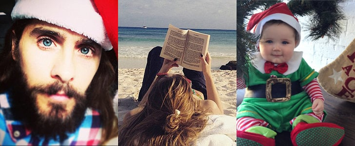 Stars Get Sweet and Silly in Their Festive Holiday Snaps!
