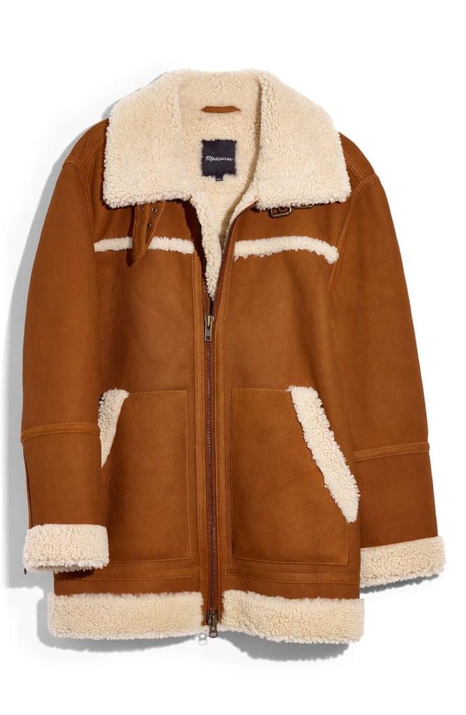 Madewell Genuine Shearling Motorcycle Jacket