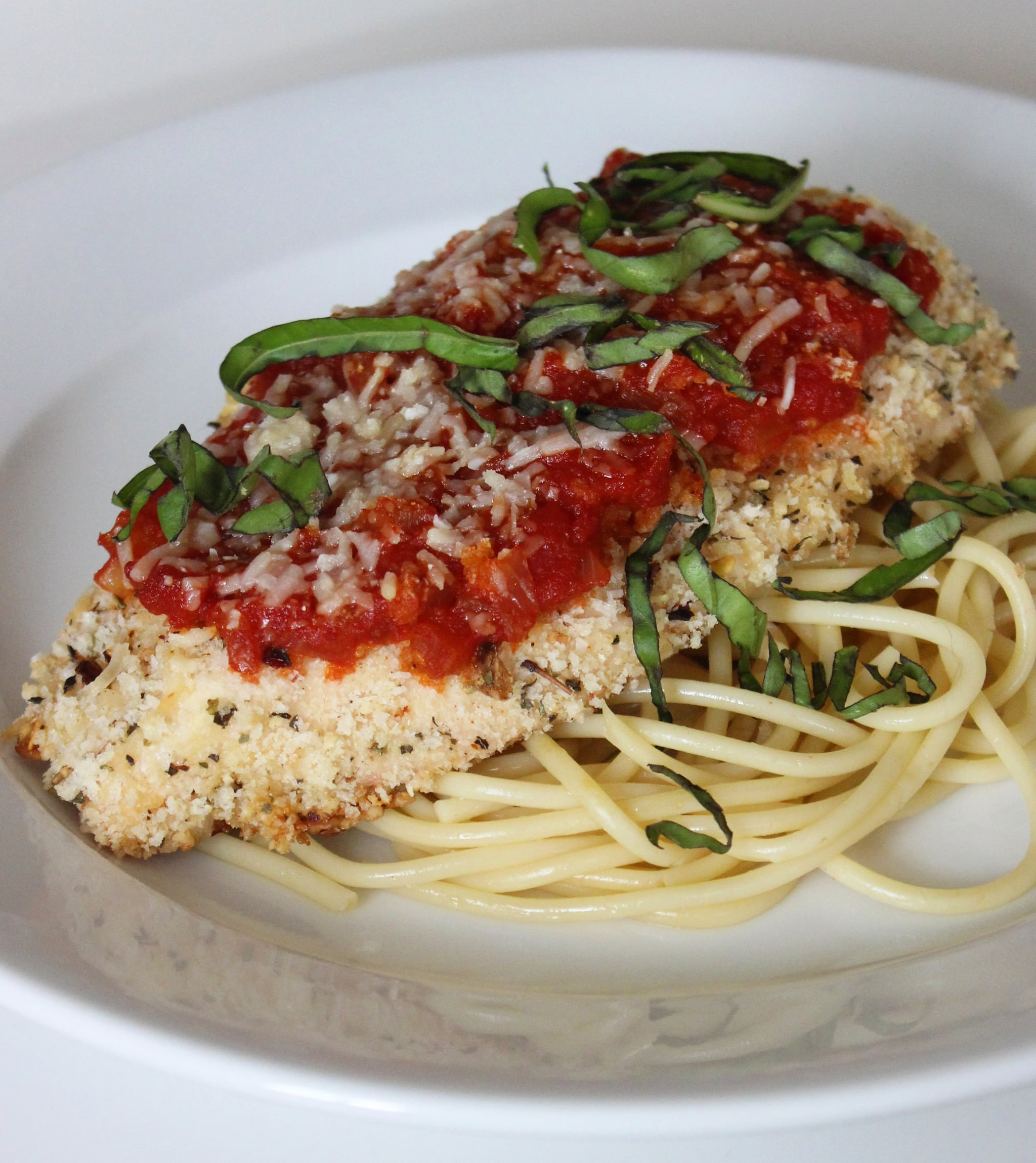 Healthy Chicken Parmesan Popsugar Fitness