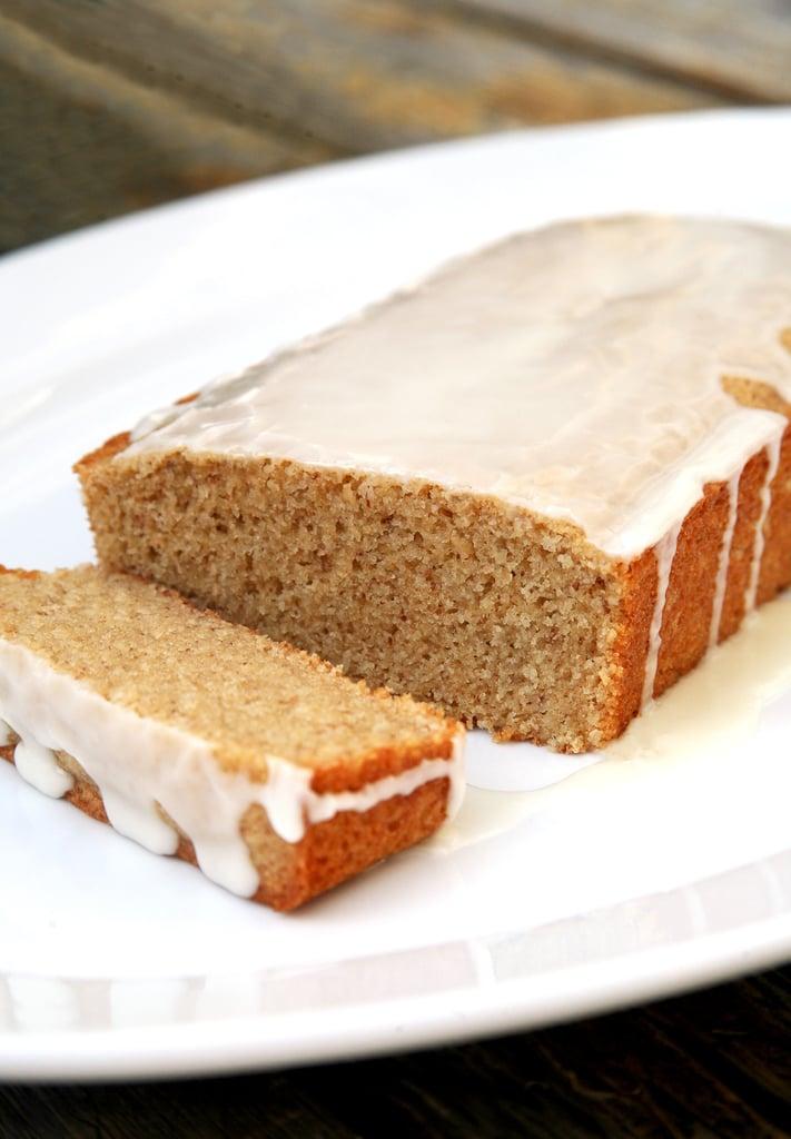 Vegan Iced Lemon Pound Cake