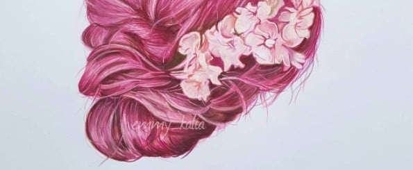 This Artist Creates the Most Realistic Drawings of Hair We've Ever Seen