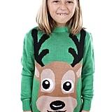 Buck Tooth Reindeer Sweater