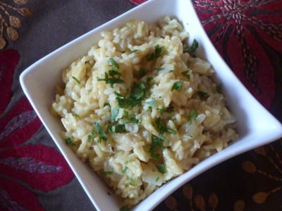 5 Ingredient Coconut Rice