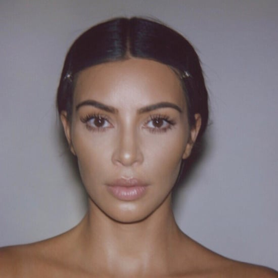 "Kim Kardashian's ""No Makeup"" Selfie on Twitter"