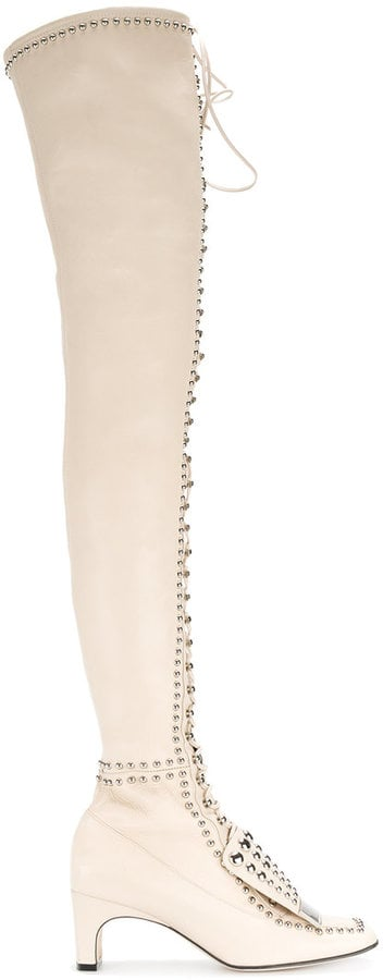 Sergio Rossi SR1 Thigh-High Boots