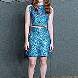 Sadie Sink Opted For a a Beautiful Blue Ensemble
