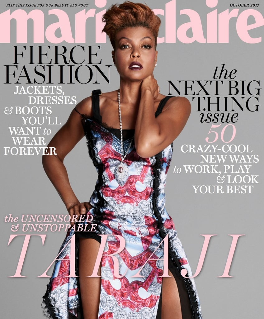 Taraji P. Henson Marie Claire October 2017 Interview