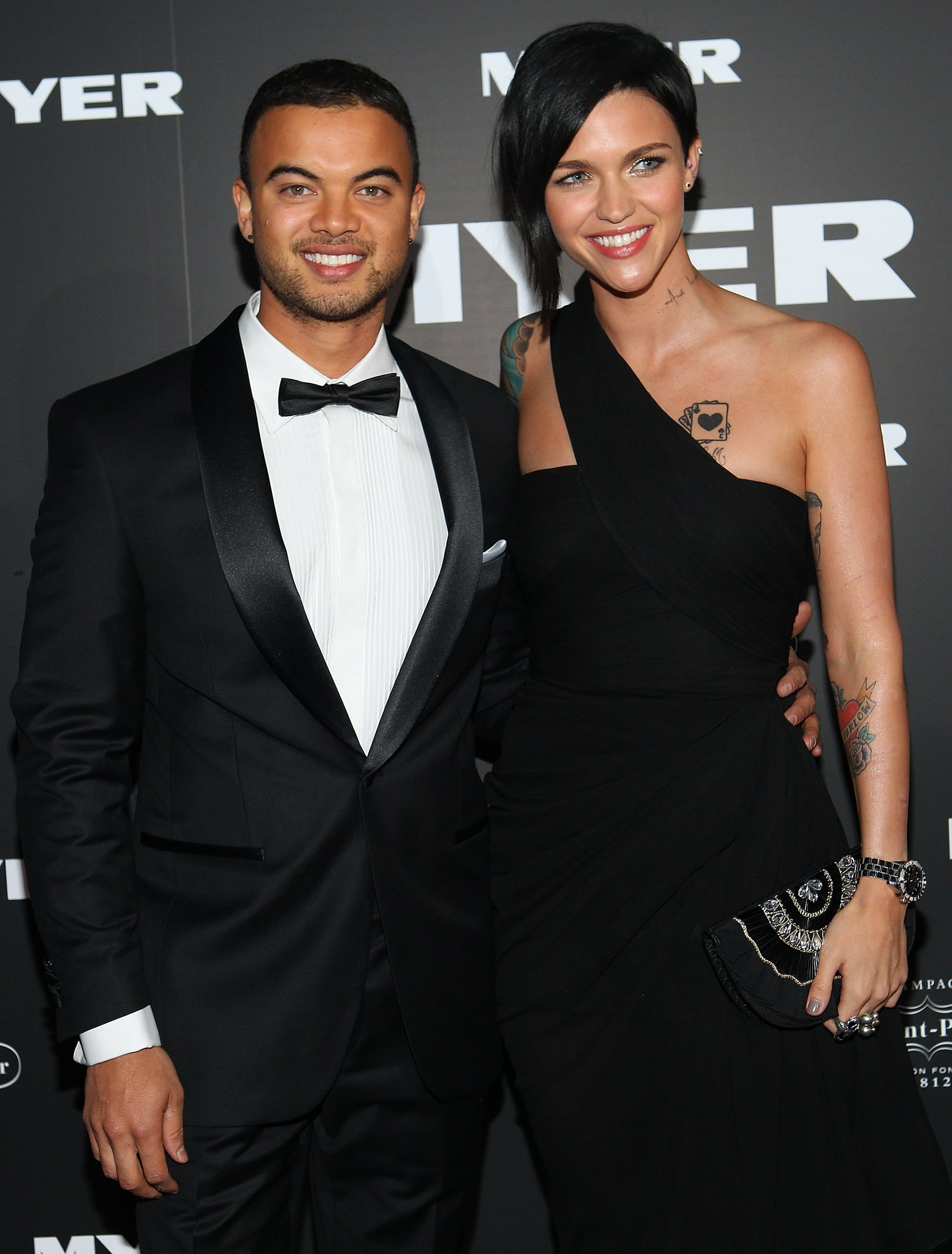 Guy Sebastian and Ruby Rose