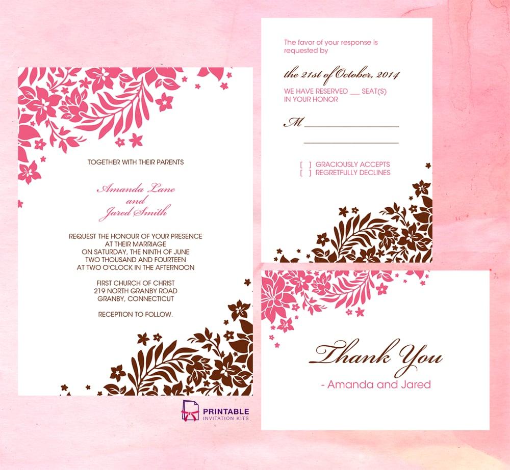 Free Printable Wedding Invitations POPSUGAR Australia Smart Living