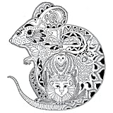 Get the coloring page: Mouse