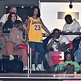 Rihanna and Hassan Jameel at Lakers Game February 2019