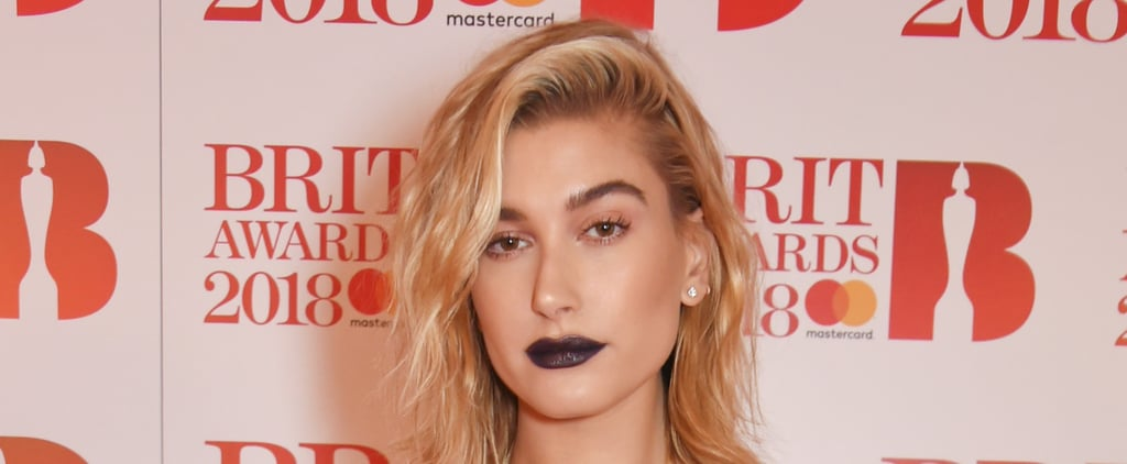 Hailey Baldwin Wore Fenty Beauty Lipstick to the Brit Awards, and We Need It Now
