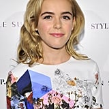 Kiernan Shipka With Blond Hair in 2013