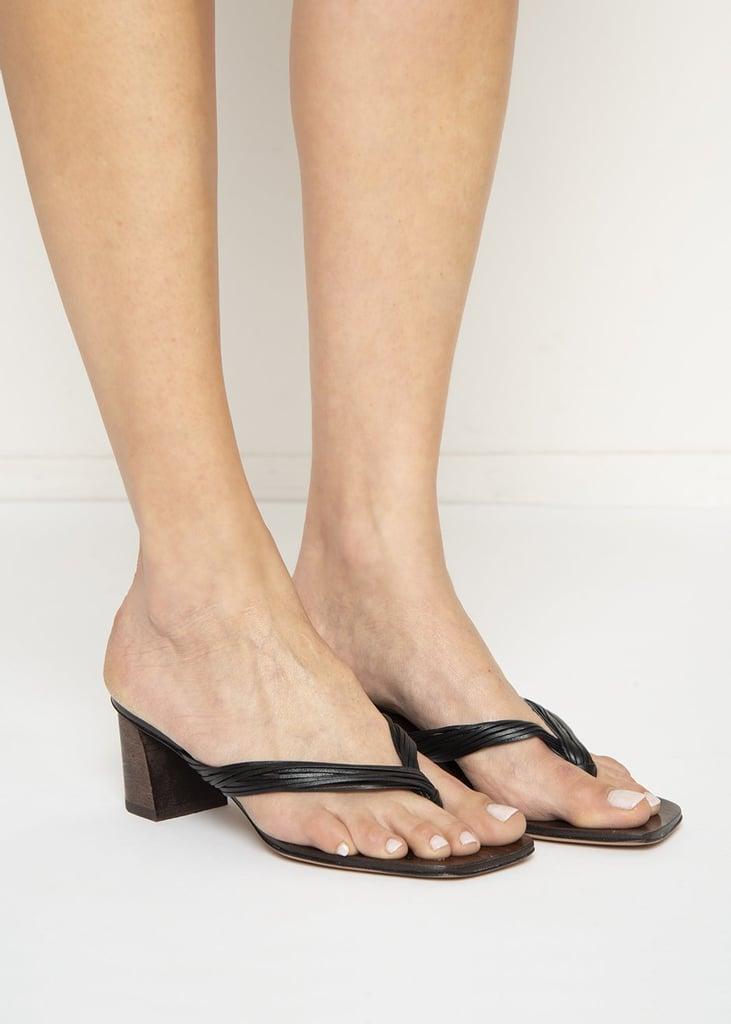Luiza Sandals in Black by Mari Giudicelli