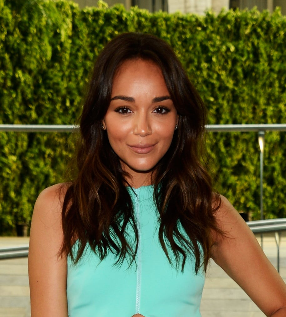 Ashley Madekwe was a vision in tousled waves and glowy makeup at the 2013 CFDA Fashion Awards.
