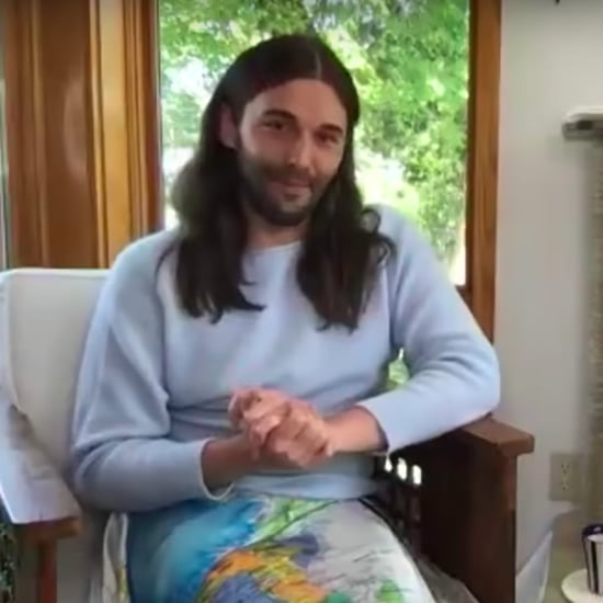 Jonathan Van Ness Gives Jimmy Fallon Tips on Cutting Hair
