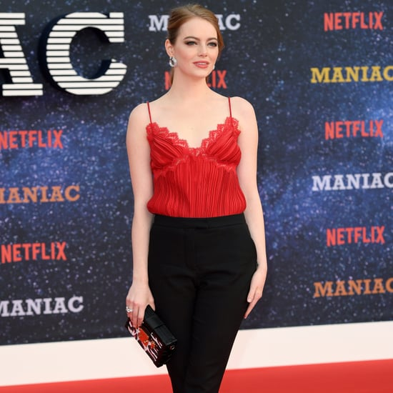 Emma Stone's Outfit at the Maniac Premiere September 2018