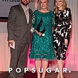 Emma Stone and her brother, Spencer, presented an award to their mom, Krista.
