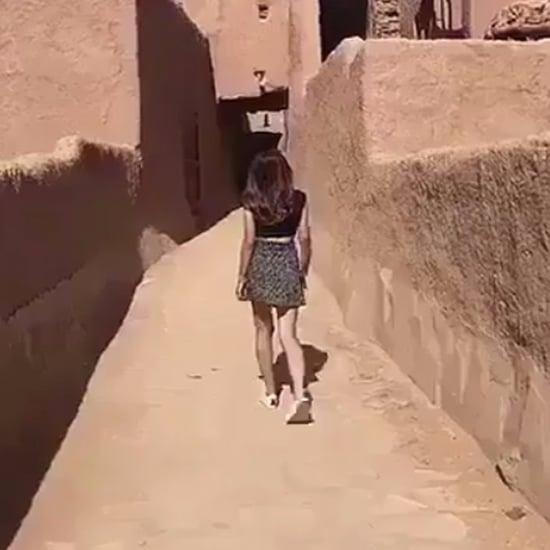 Saudi Woman Snapchat Video