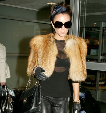 Photos of Victoria Beckham Leaving JFK