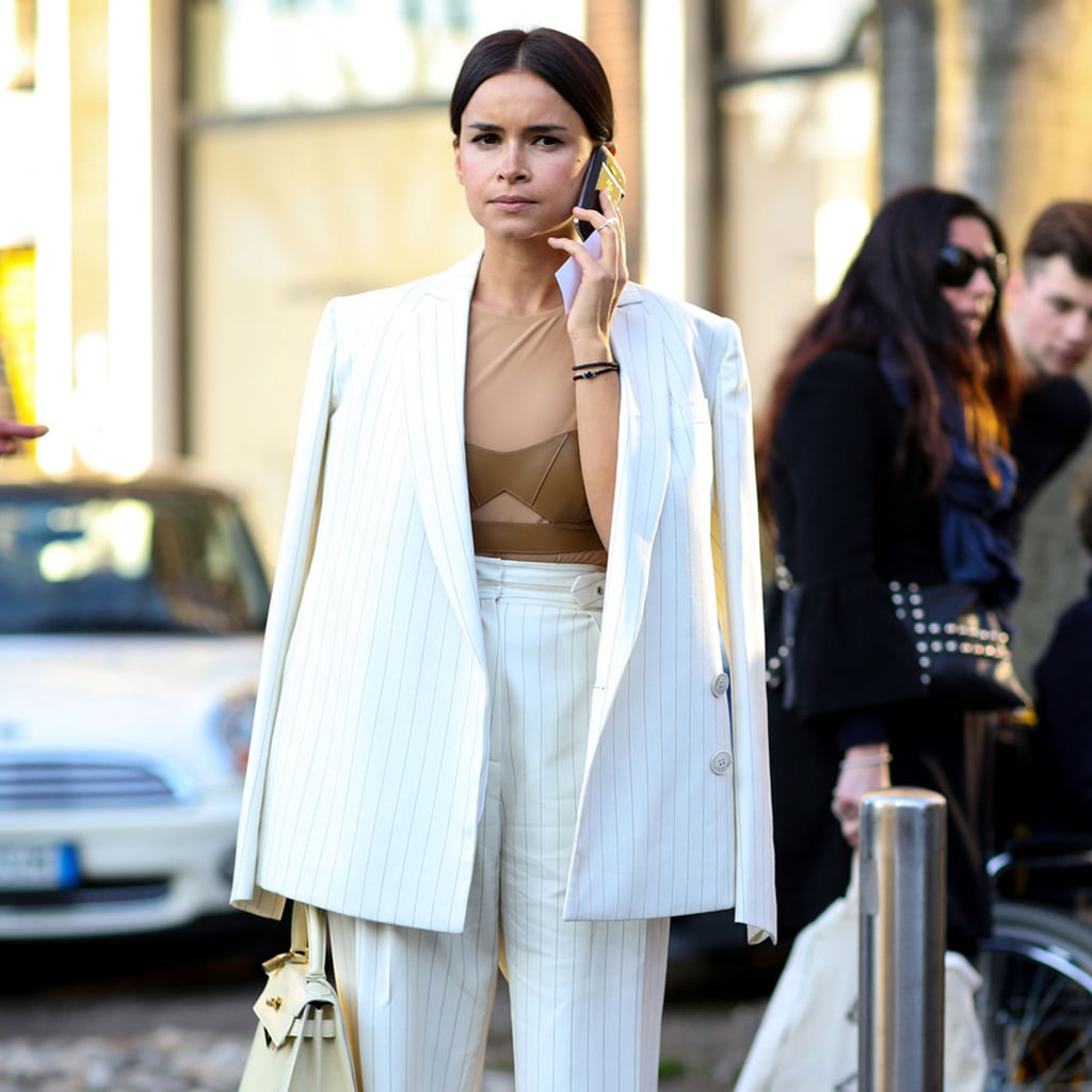 Street Style: Black, White and Neutral Winter Outfit Ideas