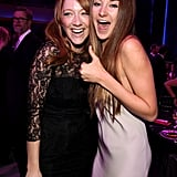 Judy Greer and Shailene Woodley squeeze in close at the Critics' Choice Awards.