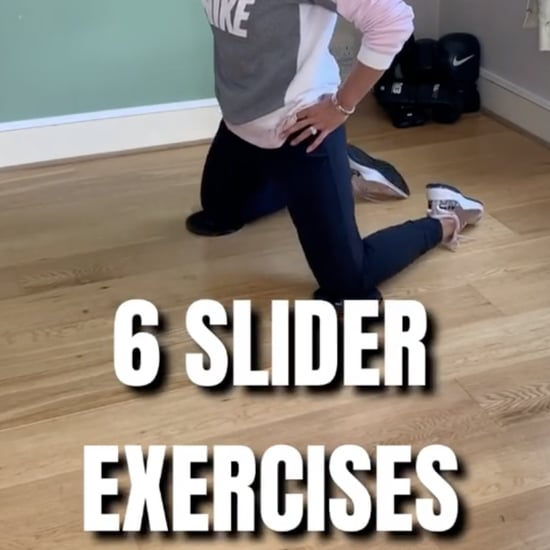 Disc Slider Exercises From Nike Trainer Nesrine Dally