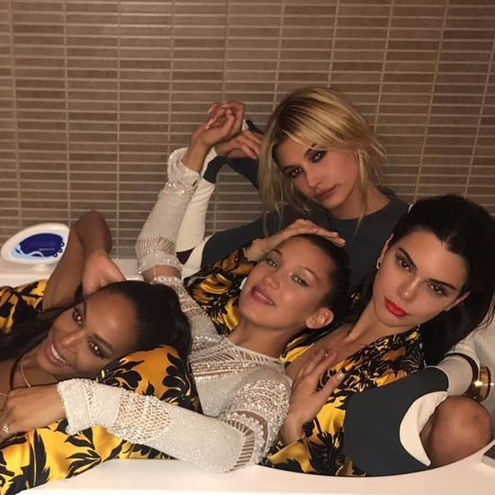 Kendall Jenner Supermodel Bathtub Photo
