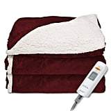 Sunbeam Sherpa/Mink Heated Throw