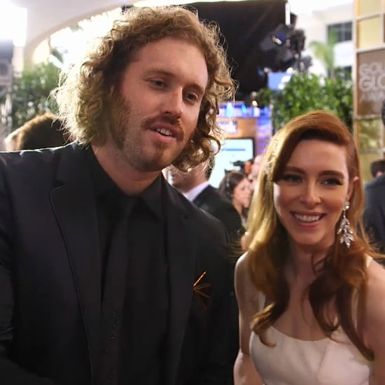 T.J. Miller Interview at 2015 Golden Globes (Video)