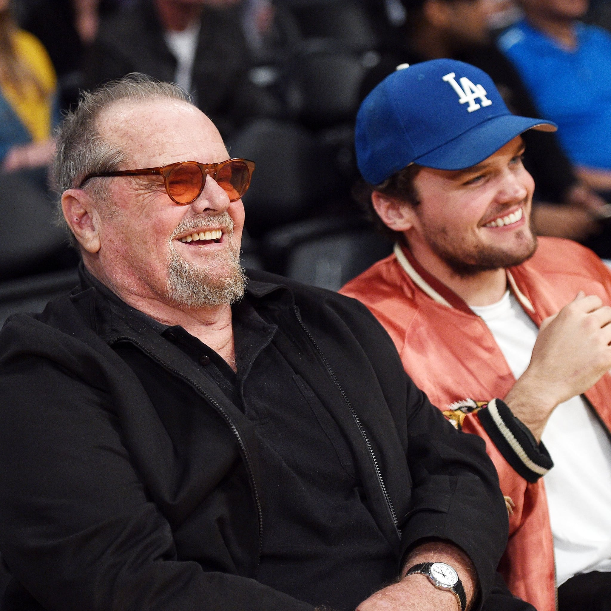 Jack Nicholson And Son Ray At Lakers Game March 2017 Popsugar Middle East Celebrity And Entertainment Jack nicholson's daughter makes a splash in new movie about surfing). jack nicholson and son ray at lakers