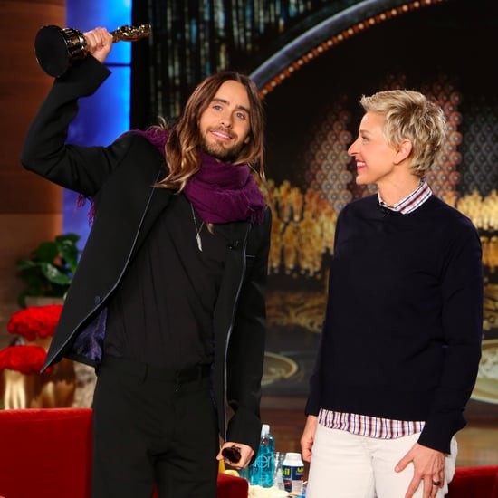 Jared Leto on Ellen Degeneres After Oscars Win Video