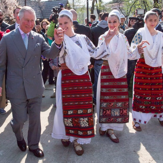 Prince Charles Dancing in Romania