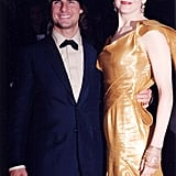 Tom and Nicole Kidman met on the set of Days of Thunder and were married from 1990 to 2001.