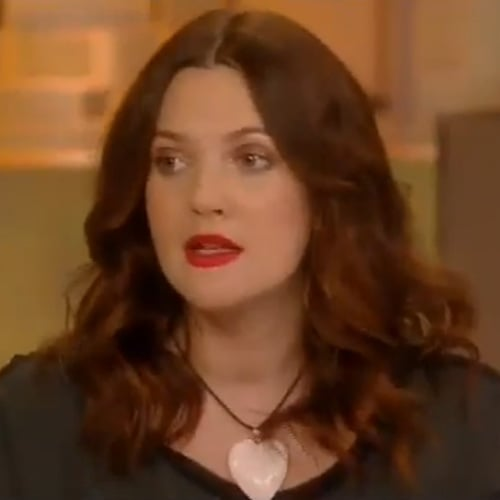 Drew Barrymore on Katie Jan. 29, 2013 (Video)