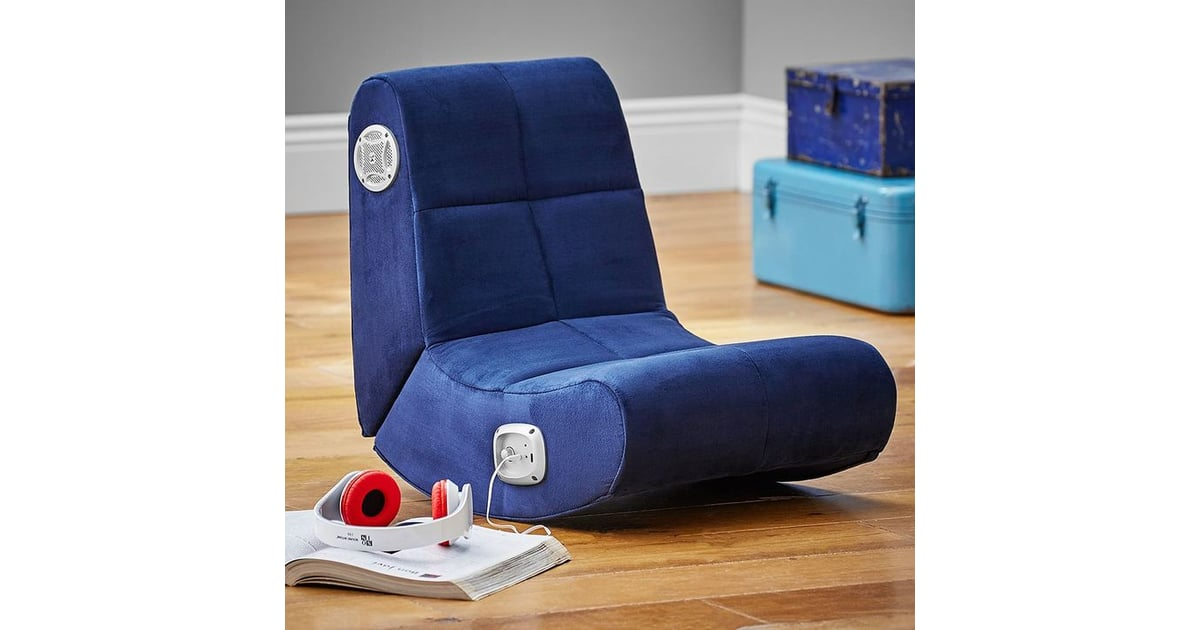 Suede Mini Rocker Speaker Chair Gifts For Kids Who Love