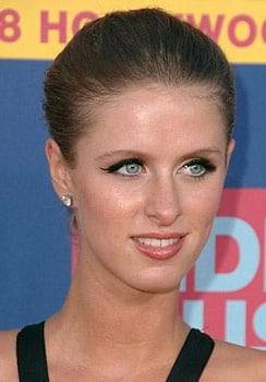 Nicky Hilton at MTV VMAs: Hair and Makeup
