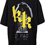 kk rap logo tee ($125)
