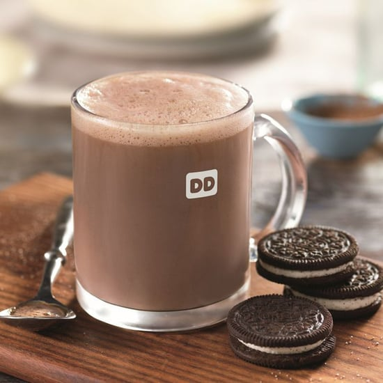 Dunkin' Donuts Oreo Hot Chocolate