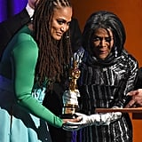 Ava DuVerney and Cicely Tyson