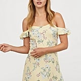 H&M Open-Shoulder Dress