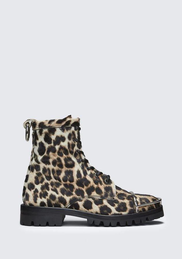 Alexander Wang Lyndon Leopard Boots