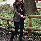 Kate Middleton Visits With Scouts March 2019