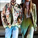 صور جيجي حديد وزين مالك في نيويورك في يناير 2020