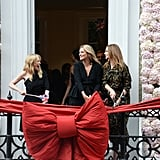 Kylie Minogue, Kate Moss, and Stella McCartney